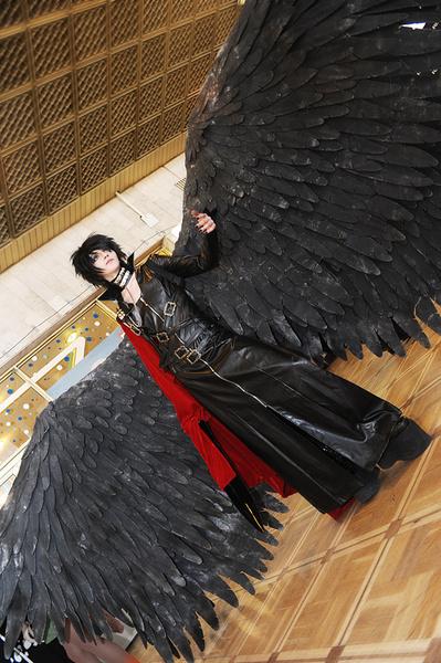 Как сделать крылья для косплея