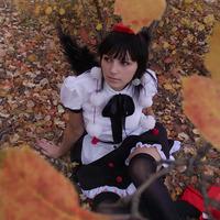 """<strong>Косплеера: Kumagoro Фотограф - Бантик Фэндом - Touhou Project Персонаж - Aya Shameimaru</strong><br/> <span style=""""font-size:0.8em"""">Используйте стрелки чтобы листать изображения</span><br/> <a href=""""http://sengie.ru/gallery/user/Sanwer/71/925""""><span style=""""font-size:0.8em"""">Комментировать(0)</span></a> <a href=""""http://sengie.ru/gallery/user/Sanwer/71/925""""><span style=""""font-size:0.8em"""">Рейтинг:(0)</span></a>"""